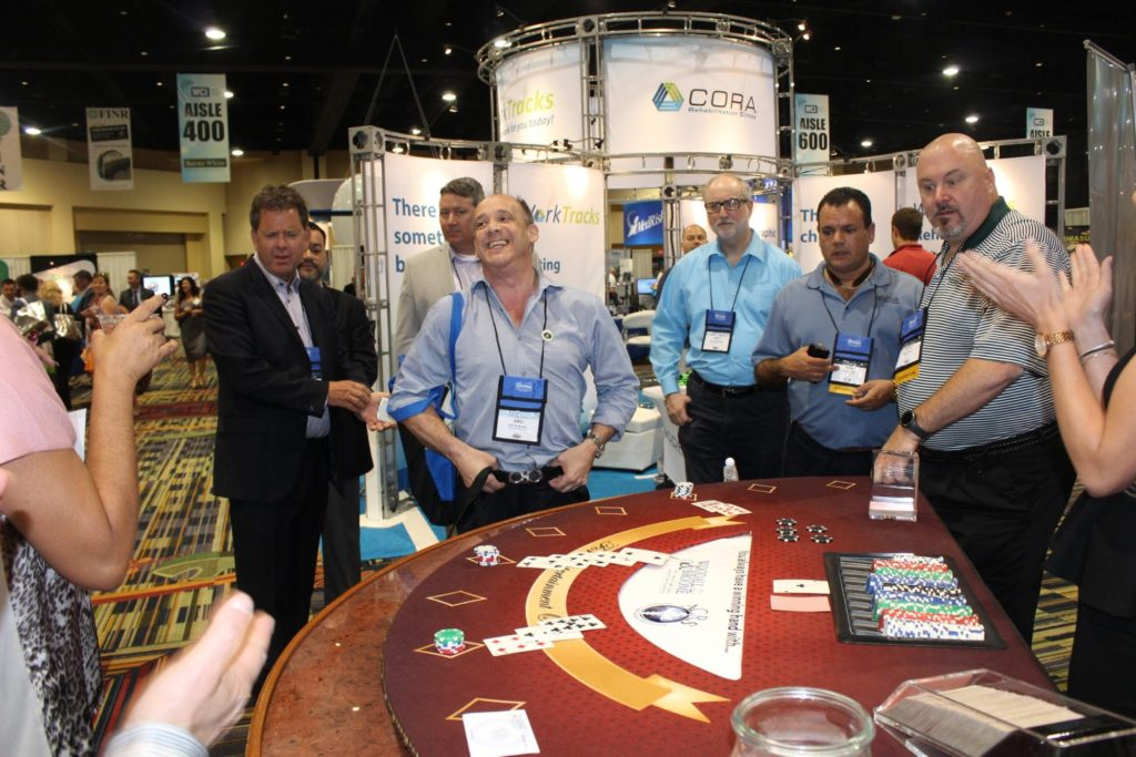 casino rental tradeshow