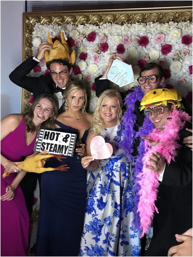 Photobooth Fun at Wedding