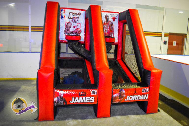 Inflatable Basketball Pop Shots-2
