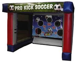 Inflatable Soccer Challenge by fotoboyz rentals