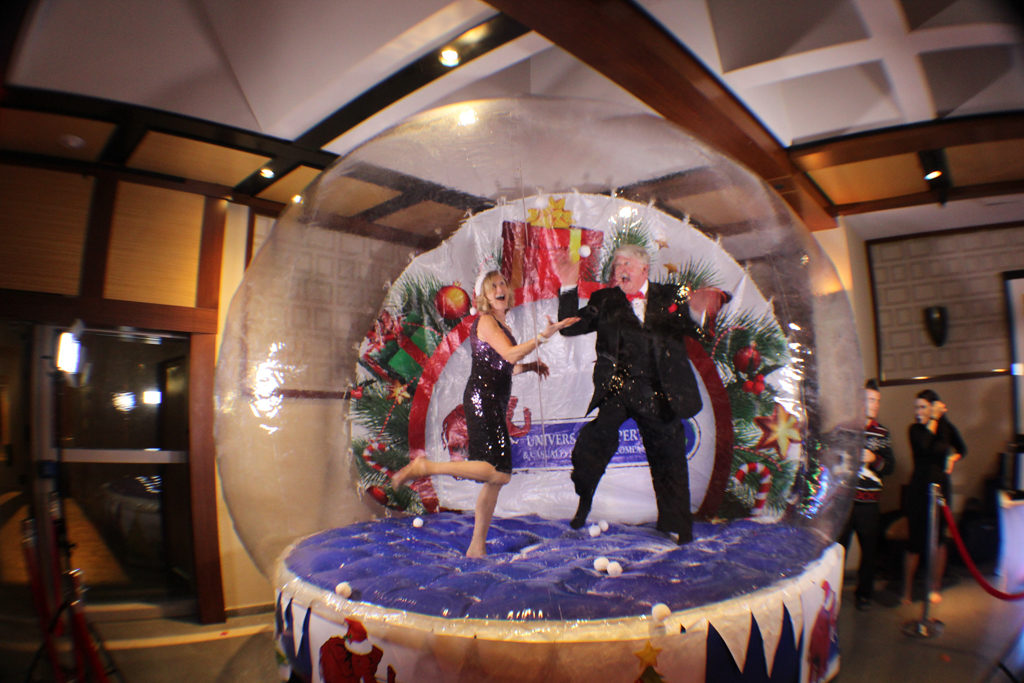 Inflatable Giant Snow Globe 3