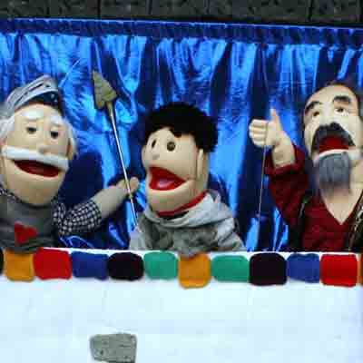 live puppet show by concha solutions