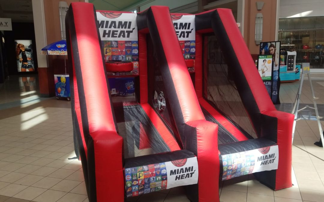 FotoBoys had a great time with the Miami Heat at the Pembroke Lakes Mall