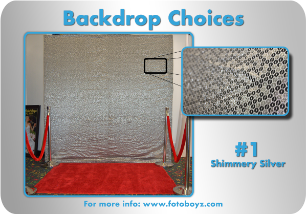 backdrop photo booth