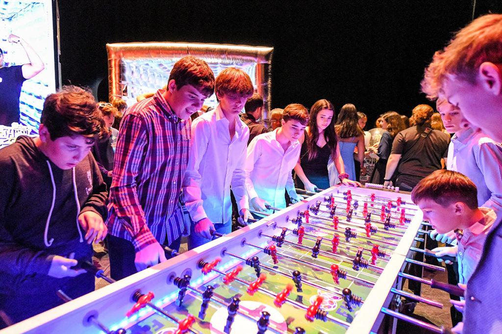 Giant LED Foosball Table Rental