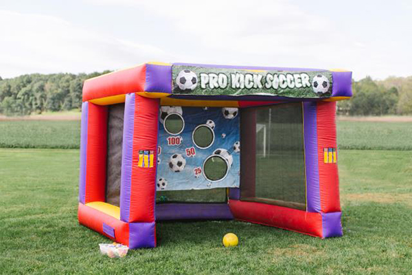 Inflatable Soccer Challenge
