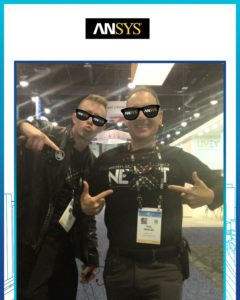 ANSYS Talking Robot Photo Booth
