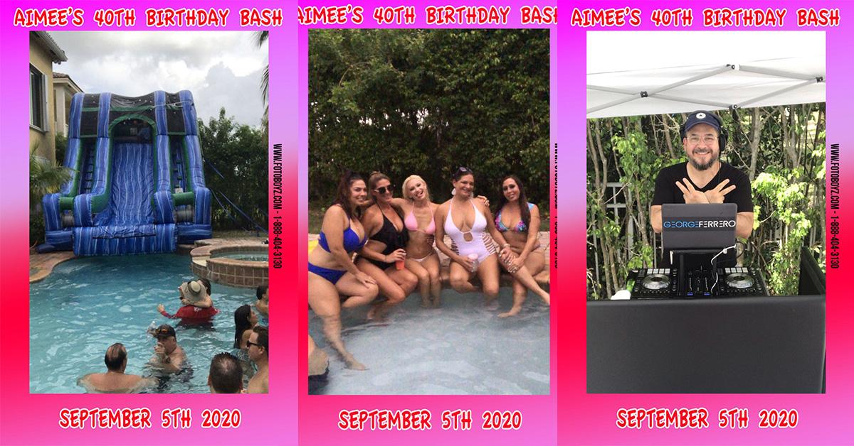 Aimee's 40th Birthday Bash