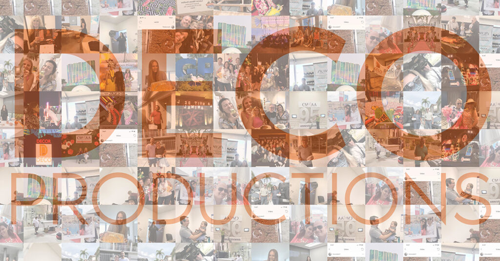 Deco Productions Employee Mosaic