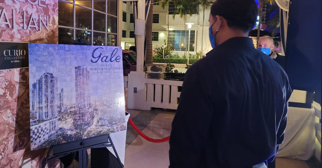 Gale Hotel Photo Mosaic