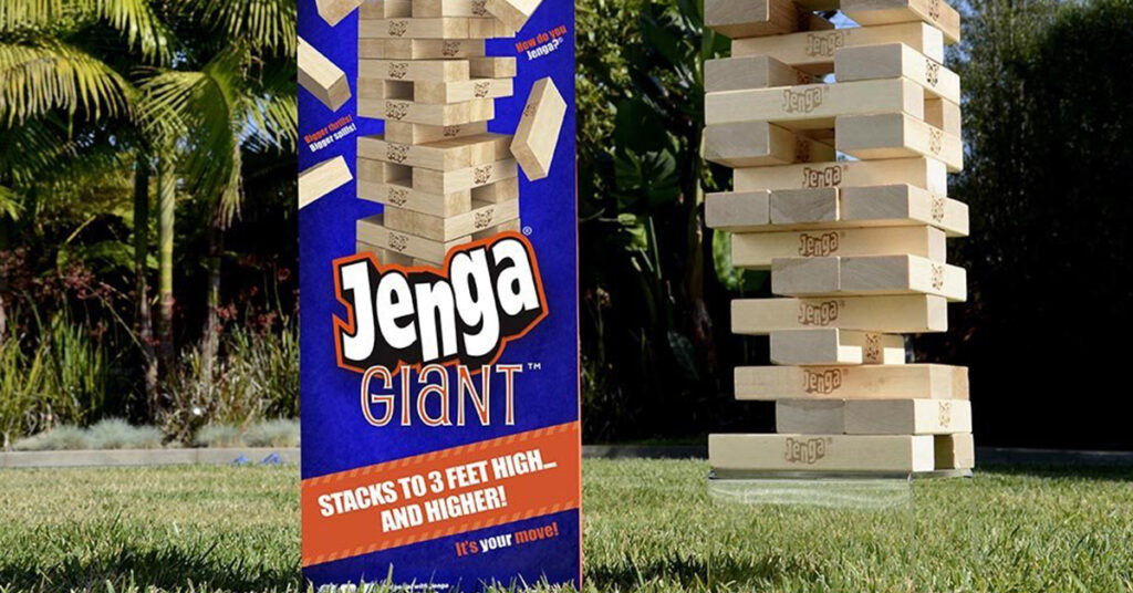 Giant Jenga and More Games
