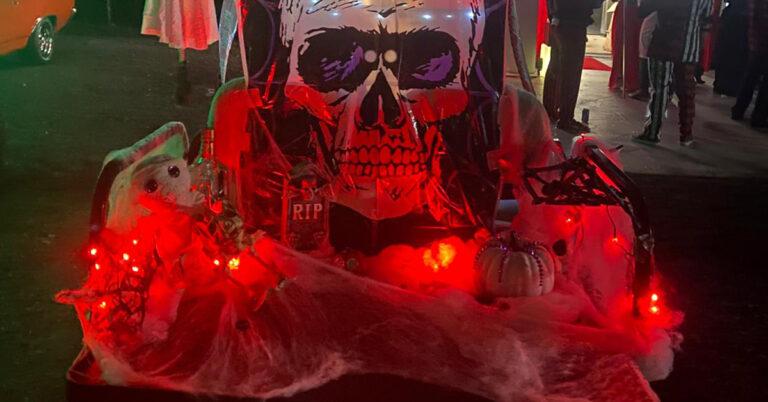 Halloween Covid 19 Photo Booth Drop Off