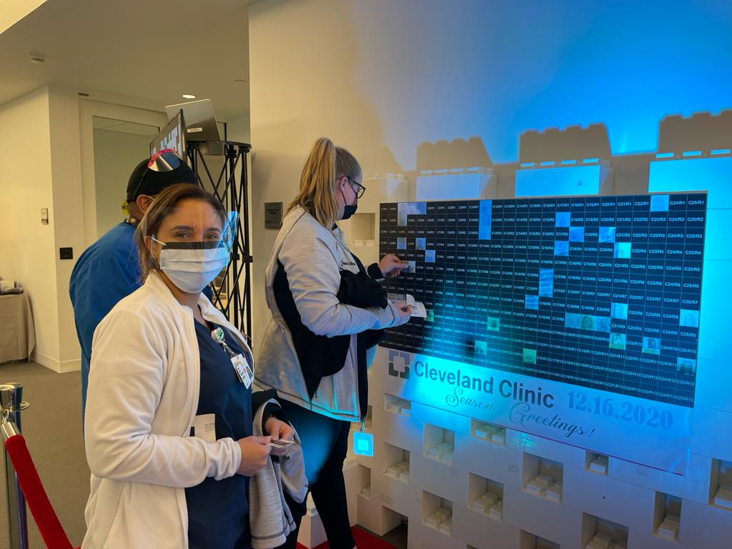 Memorable Mosaic for Cleveland Clinic