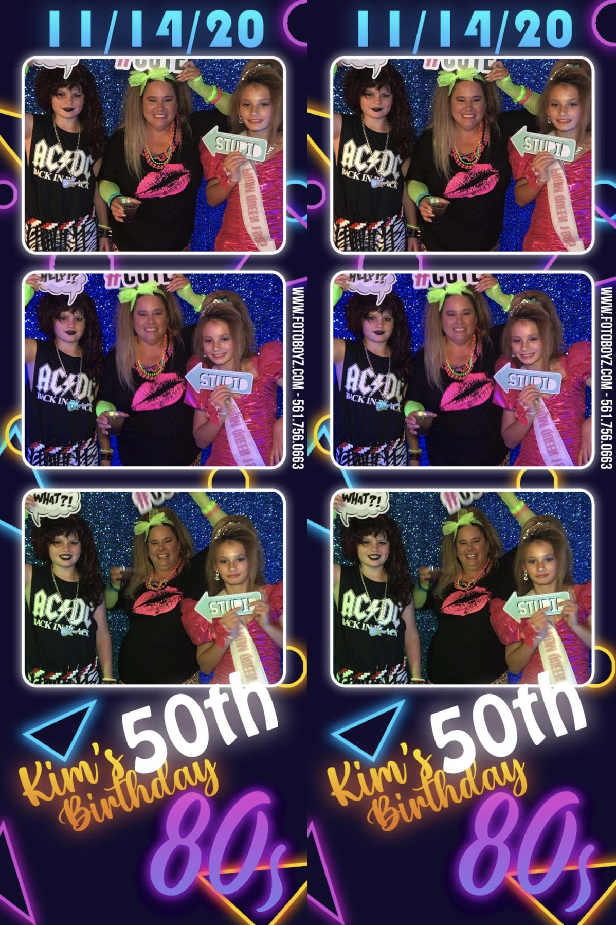 Surprise 80s Theme 50th Birthday 1