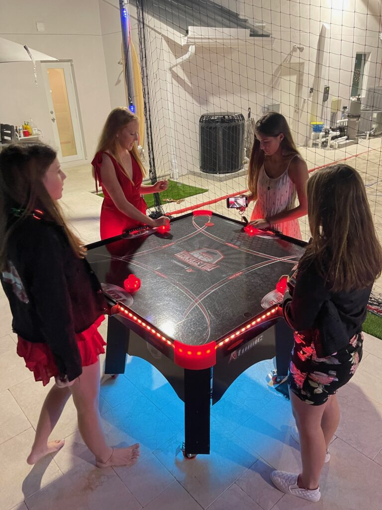 Four Player Air Hockey Full Table 1