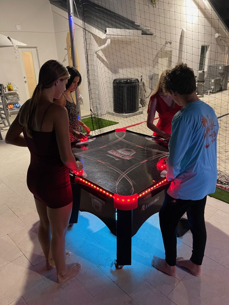 Four Player Air Hockey Full Table 2