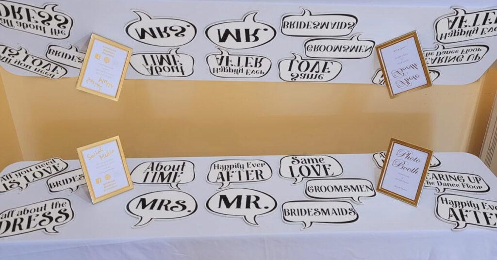 Wedding White Vintage Photo Booth