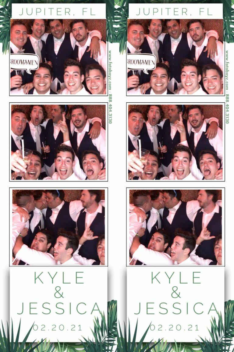 Kyle Jessica Open Style Photo Booth 4