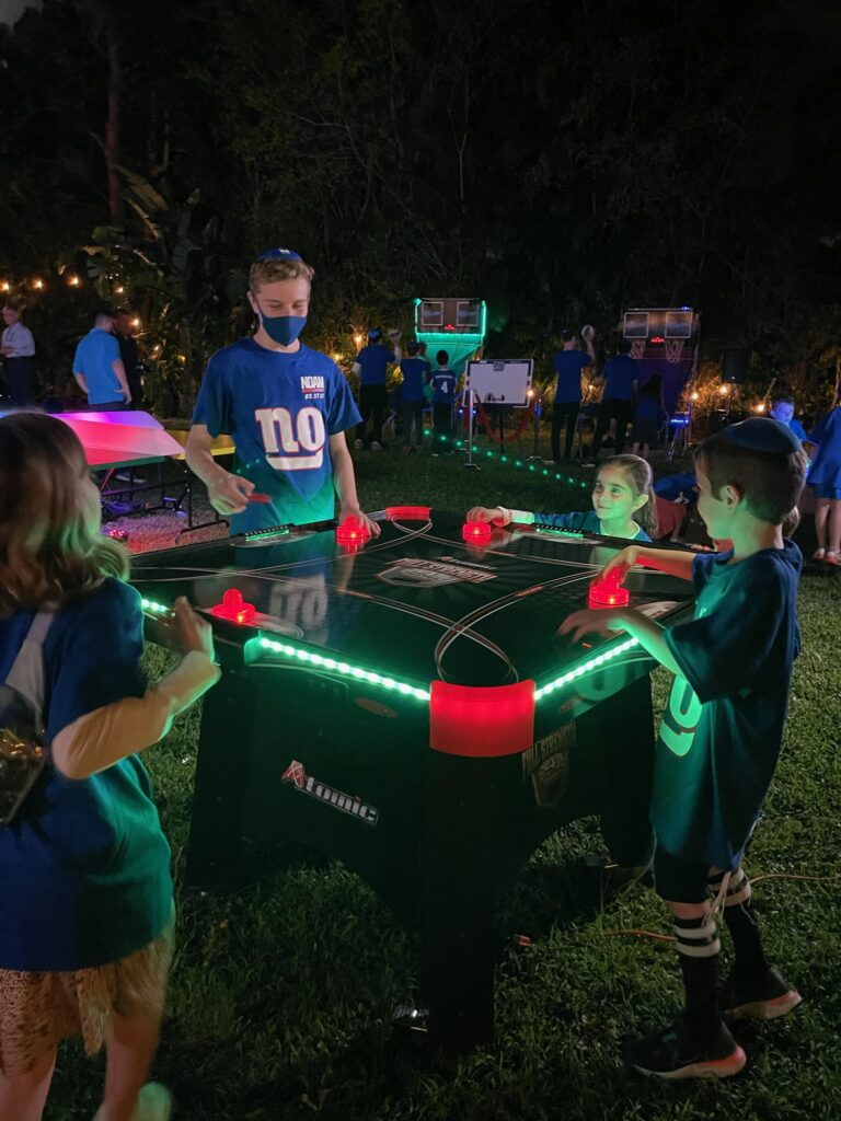 Noams Bar Mitzvah Games Competition 1