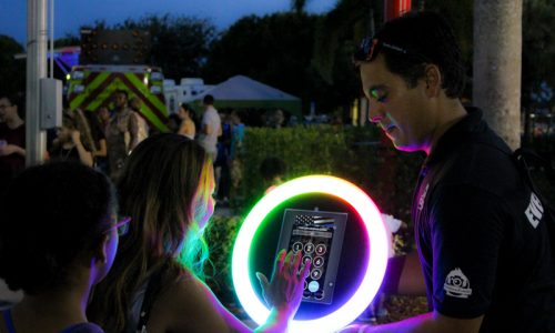 Led Roving Selfie Booth-32