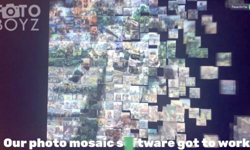 Photo Mosaic Covid